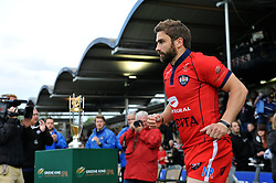 Nicky Robinson of Bristol Rugby makes his way onto the pitch - Photo mandatory by-line: Patrick Khachfe/JMP - Mobile: 07966 386802 27/05/2015 - SPORT - RUGBY UNION - Worcester - Sixways Stadium - Worcester Warriors v Bristol Rugby - Greene King IPA Championship Play-off Final (Second leg)