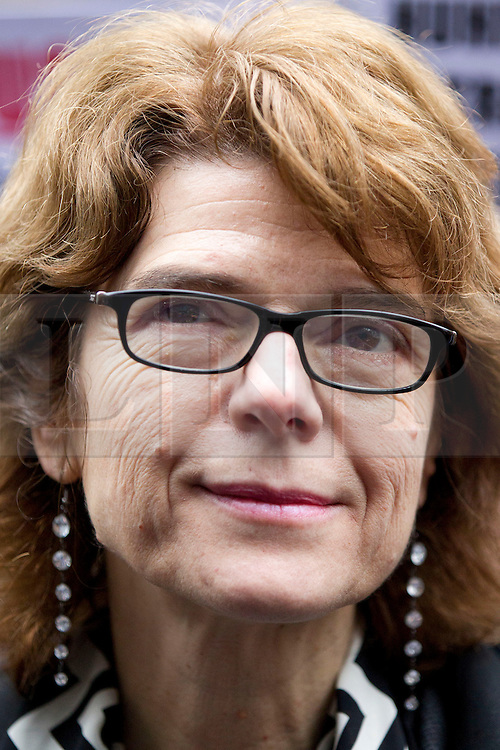 © Licensed to London News Pictures. 07/03/2013. London, UK. Economist Vicky Pryce is seen outside Southwark Crown Court in London today (07/03/2013) after being found guilty of perverting the course of justice in a case involving her former husband, the ex-politician Chris Huhne, and a 2003 speeding case. Photo credit: Matt Cetti-Roberts/LNP
