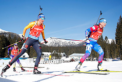 Hinz Vanessa of Germany competes during the IBU World Championships Biathlon 4x6km Relay Women competition on February 20, 2021 in Pokljuka, Slovenia. Photo by Vid Ponikvar / Sportida