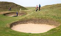 SANDWICH (GB) - Hole 5.  The Royal St. George's Golf Club (1887), één van de oudste en meest beroemde golfclubs in Engeland. COPYRIGHT KOEN SUYK