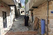 Israel, Upper Galilee, The Druze village of Peki'in Druze man in traditional dress