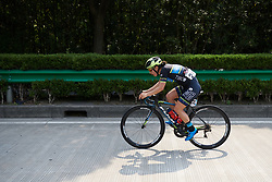 Shannon Malseed (AUS) chases back to the lead group at Tour of Chongming Island 2019 - Stage 1, a 102.7 km road race on Chongming Island, China on May 9, 2019. Photo by Sean Robinson/velofocus.com