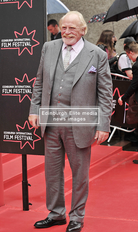 """Edinburgh International Film Festival, Sunday 26th June 2016<br /> <br /> Stars turn up on the closing night gala red carpet for the World Premiere of """"Whisky Galore!""""  at the Edinburgh International Film Festival 2016<br /> <br /> James Cosmo who plays Macalister the Minister in the film.<br /> <br /> (c) Alex Todd 