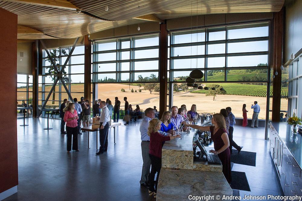 Stoller Vineyard tasting room, opened summer 2012, Dundee HIlls, Willamette Valley, Oregon