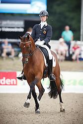Franckx Tom, (BEL), Evento D<br /> First Qualifier 6 years old horses<br /> World Championship Young Dressage Horses - Verden 2015<br /> © Hippo Foto - Dirk Caremans<br /> 07/08/15