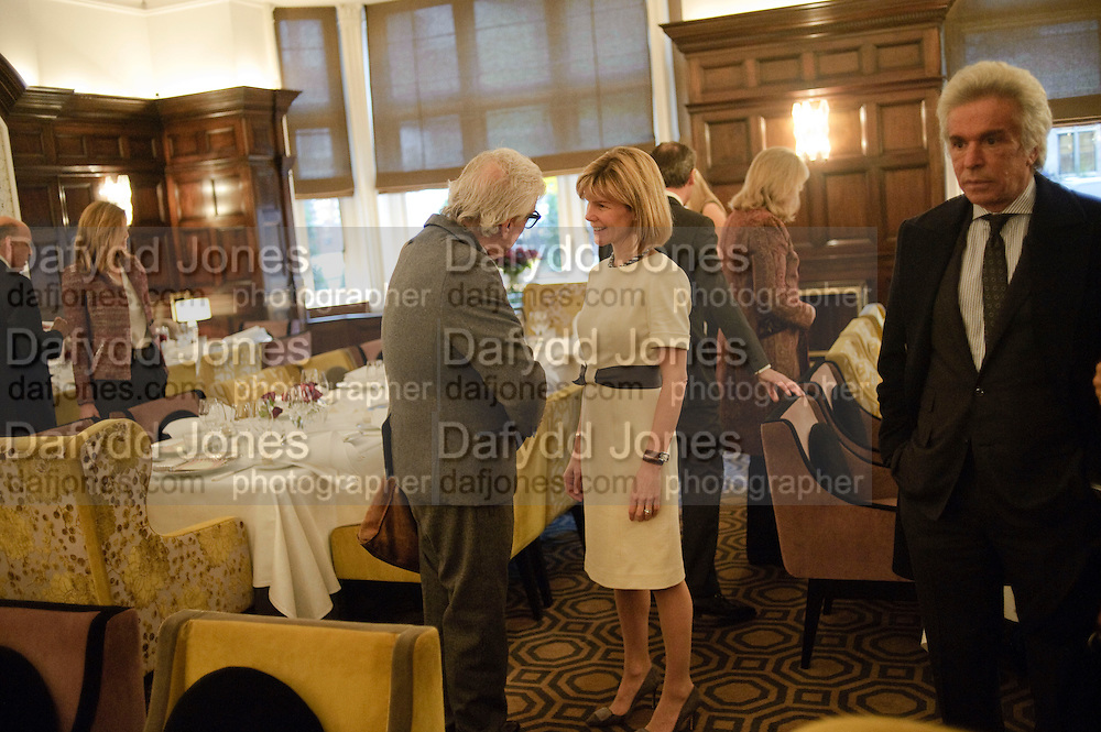 ANNA CARTER, Graydon and Anna Carter host a lunch for Carolina Herrera to celebrate the ipening of her new shop on Mount St. .The Connaught. London. 20 January 2010