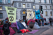 Extinction Rebellion protests. Westminster, London. 9 October 2019