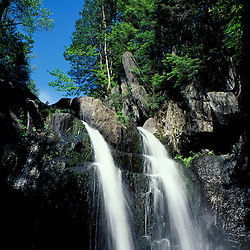 Gulf Hagas, ME. Northern Forest. Piscataquis Mountains. A waterfall in Gulf Hagas.