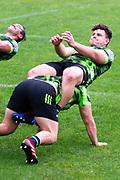 WELLINGTON, NEW ZEALAND -May 25: Ricky Riccitelli at Hurricanes training run, May 25, 2020 in Wellington, New Zealand. Copyright Photo: Elias Rodriguez / www.photosport.nz