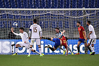 Gol Saul Niguez Spagna Goal celebration <br /> Roma 27-02-2017, Stadio Olimpico<br /> Football Friendly Match  <br /> Italy - Spain Under 21 Foto Andrea Staccioli Insidefoto