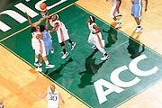 2008 University of Miami Women's Basketball vs North Carolina