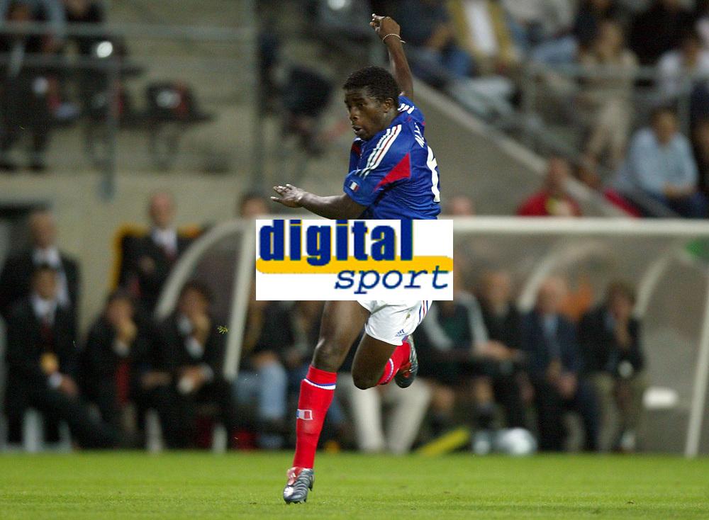 Fotball<br /> Privatlandskamp<br /> Frankrike v Bosnia & Herzegovina<br /> 18. august 2004<br /> Foto: Digitalsport<br /> NORWAY ONLY<br />  RIO MAVUBA (FRA)