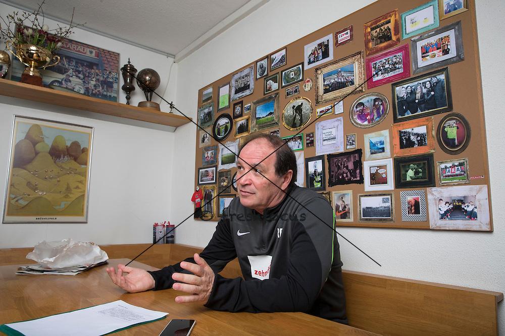 30.03.2015; Aarau; Fussball Super League - Raimondo Ponte (Andreas Meier/freshfocus)