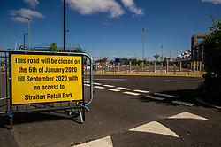 Expansion plans for shopping centres have been put on hold with expected completion dates shelved.  Retail centres are like wastelands with all shops closed.
