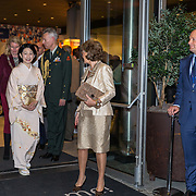 NLD/Den Haag/20181024 - Prinses Akishino en prinses Margriet openen 49th Union World Conference on Lung Health, Prinses Akishino en prinses Margriet