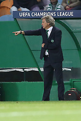 November 22, 2017 - Lisbon, Portugal - Sporting's head coach Jorge Jesus from Portugal gestures during the UEFA Champions League group D football match Sporting CP vs Olympiacos FC at Alvalade stadium in Lisbon, Portugal on November 22, 2017. Photo: Pedro Fiuza  (Credit Image: © Pedro Fiuza/NurPhoto via ZUMA Press)
