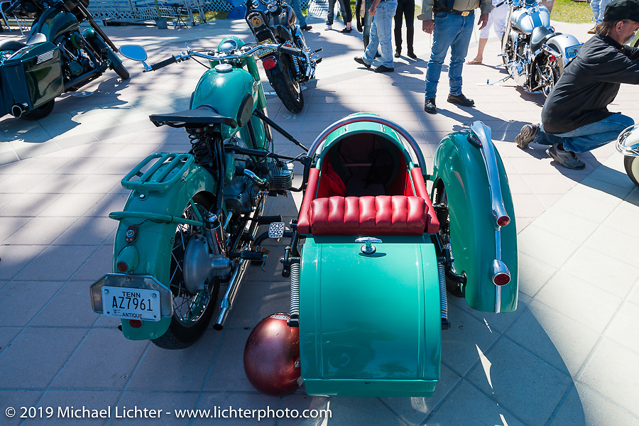 Boardwalk Bike Show during Daytona Bike Week. FL, USA. March 14, 2014.  Photography ©2014 Michael Lichter.