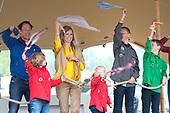 Koningin Maxima opent Scoutinglandgoed Zeewolde