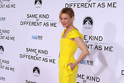 "Renee Zellweger at the Paramount Pictures And Pure Flix Entertainment's ""Same Kind Of Different As Me"" Premiere held at the Westwood Village Theatre on October 12, 2017 in Westwood, California, USA (Photo by Art Garcia/Sipa USA)"