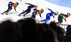 12-01-2019 NED: ISU European Short Track Championships 2019 day 2, Dordrecht<br /> Start Daan Breeuwsma #65 NED, Dylan Hoogerwerf #68 NED