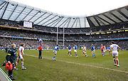 © Filippo Alfero<br /> Londra, Gran Bretagna, 07/02/2009<br /> sport , rugby<br /> Rugby 6 Nazioni 2009 - Inghilterra vs Italia<br /> Nella foto: fasi di gioco<br /> <br /> © Filippo Alfero<br /> London, Great Britain, 07/02/2009<br /> sport , rugby<br /> RBS 6 Nations 2009 - England vs Italy<br /> In the photo: a moment of the match