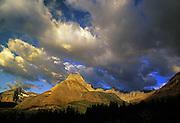 Mount Wilbur and the Garden Wall. Glacier National Park, Montana