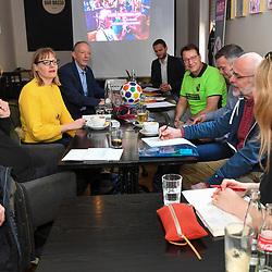 Übersicht bei der PK bei der Pressekonferenz zum 1. Come-Together-Cup Rhein Neckar.<br /> <br /> Foto © PIX-Sportfotos *** Foto ist honorarpflichtig! *** Auf Anfrage in hoeherer Qualitaet/Aufloesung. Belegexemplar erbeten. Veroeffentlichung ausschliesslich fuer journalistisch-publizistische Zwecke. For editorial use only.