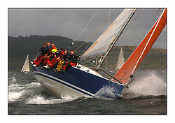 Day 2 of the Bell Lawrie Scottish Series with wild conditions on Loch Fyne for all fleets. Exhilarating and testing racing for Boats and crew...Class 1 9641R Local Hero..