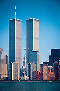 New York City's World Trade Center in 1991