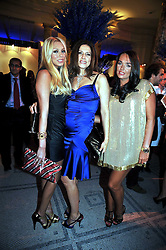 Left to right, PETRA ECCLESTONE, SLAVICA ECCLESTONE and TAMARA ECCLESTONE at the F1 Party in aid of the Great Ormond Street Hospital Children's Charity held at the V&A, Londonon 17th June 2009.