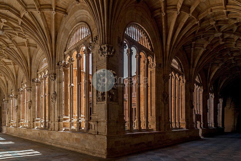 Claustro de los Reyes. Convento de San Esteban, Salamanca ©Javier Abad / PILAR REVILLA