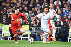 Real Madrid and Real Sociedad at Santiago Bernabeu on February 10, 2018 in Madrid, Spain. 10 Feb 2018 Pictured: Marcelo (defender; Real Madrid). Photo credit: MEGA TheMegaAgency.com +1 888 505 6342