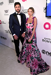 Brody Jenner and Kaitlynn Carter attending the Elton John AIDS Foundation Viewing Party held at West Hollywood Park, Los Angeles, California, USA.