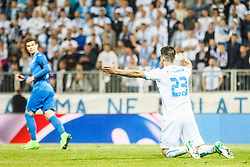 Franko Andrijasevic #23 of HNK Rijeka during football match between HNK Rijeka and GNK Dinamo Zagreb in Round #27 of 1st HNL League 2016/17, on November 5, 2016 in Rujevica stadium, Rijeka, Croatia. Photo by Grega Valancic / Sportida