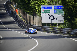 June 4, 2017 - Le Mans, France - 35 SIGNATECH ALPINE MATMUT (FRA) ALPINE A470 GIBSON LMP2 PIERRE RAGUES (FRA) ANDRE NEGRAO (BRA) NELSON PANCIATICI  (Credit Image: © Panoramic via ZUMA Press)