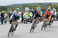 Jokin Murguialday, Thomas Gloag and Rob Carpenter during Stage 8 of the AJ Bell Tour of Britain 2021 between Stonehaven to Aberdeen, , Scotland on 12 September 2021.