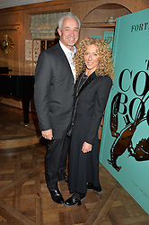 KELLY HOPPEN and JOHN GARDINER at a party hosted by Ewan Venters CEO of Fortnum & Mason to celebrate the launch of The Cook Book by Tom Parker Bowles held at Fortnum & Mason, 181 Piccadilly, London on 18th October 2016.