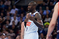 Real Madrid's Othello Hunter during Semi Finals match of 2017 King's Cup at Fernando Buesa Arena in Vitoria, Spain. February 18, 2017. (ALTERPHOTOS/BorjaB.Hojas)
