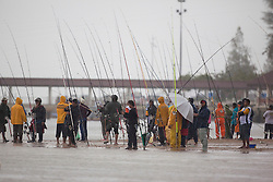Fishing competition during the Monsoon Cup 2010. World Match Racing Tour, Kuala Terengganu, Malaysia. 4 December 2010. Photo: Subzero Images/WMRT