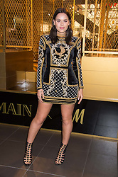 ATLANTA DE CADENET at a party to celebrate the launch of the Balmain H&M collection held at H&M Regent Street, London on 4th November 2015.