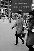 ZARA PHILLIPS; AMANDA BUSH, The Cheltenham Festival Ladies Day. Cheltenham Spa. 11 March 2015