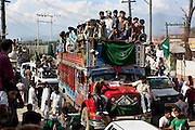 On the 22nd August 2008 an estimated 350,000 Kashmiri's marched to the Eidgha communal ground in Srinagar demanding Independence from India. Local Kashmiri's said they had never witnessed anything like it in their lifetime. .Hundreds of lorries carried the protestors to and from the demonstration....