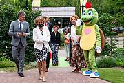 RHENEN, 23-06-2021, Ouwehands Dierenpark<br /> <br /> Prinses Margriet is aanwezig tijdens de viering van het 5-jarige bestaan van het Onky Donky huis van Stichting Onky Donky in Rhenen, gevestigd in Ouwehands Dierenpark. FOTO: Brunopress/Patrick van Emst