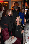 LADY WEINBERG; KATE MOSS, Chinese New Year dinner given by Sir David Tang. China Tang. Park Lane. London. 4 February 2013.