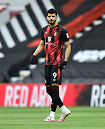 Dominic Solanke (9) of AFC Bournemouth during the EFL Sky Bet Championship match between Bournemouth and Stoke City at the Vitality Stadium, Bournemouth, England on 8 May 2021.