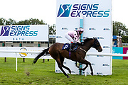 Hear We Go Again ridden by Gina Mangan and trained by David Evans in the Sky Sports Racing Virgin 535 Handicap - Mandatory by-line: Robbie Stephenson/JMP - 18/07/2020 - HORSE RACING- Bath Racecourse - Bath, England - Bath Races 18/07/20