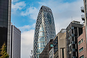 Mode Gakuen Cocoon Tower is a 204-metre (669 ft), 50-story educational facility in the Nishi-Shinjuku district in Shinjuku, Tokyo, Japan. The building is home to three educational institutions: Tokyo Mode Gakuen (fashion vocational school), HAL Tokyo (special technology and design college), and Shuto Ikō (medical college). Completed in October 2008, the tower is the second-tallest educational building in the world and is the 17th-tallest building in Tokyo. It was awarded the 2008 Skyscraper of the Year by Emporis.com.