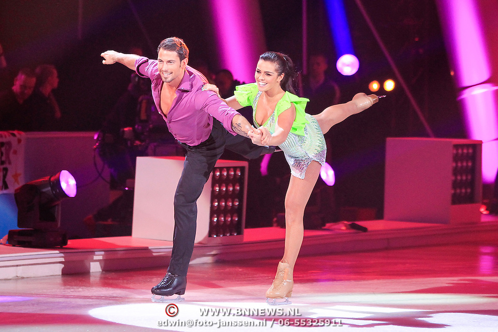 NLD/Hilversum/20130119 - 4e Liveshow Sterren Dansen op het IJs 2013,