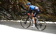 Foto Fabio Ferrari/LaPresse <br /> 22 ottobre 2020 Italia<br /> Sport Ciclismo<br /> Giro d'Italia 2020 - edizione 103 - Tappa 18 - Da<br /> Pinzolo a Laghi di Cancano (Parco Nazionale Stelvio)<br /> (km 207)<br /> Nella foto: durante la gara - O'CONNOR Ben NTT PRO CYCLING TEAM<br /> <br /> Photo Fabio Ferrari/LaPresse<br /> October 22, 2020  Italy  <br /> Sport Cycling<br /> Giro d'Italia 2020 - 103th edition - Stage 18 - From<br /> Pinzolo to Laghi di Cancano (Parco Nazionale Stelvio)<br /> In the pic: during the race - O'CONNOR Ben NTT PRO CYCLING TEAM
