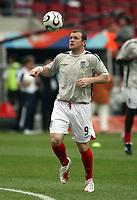 Photo: Chris Ratcliffe.<br /> Sweden v England. FIFA World Cup 2006. 20/06/2006.<br /> Wayne Rooney of England warms up.